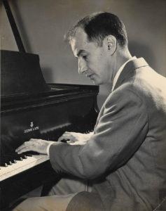 William Schatzkamer at the Piano
